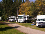 View larger image of RVs camping at WOODSTREAM CAMPSITE image #1