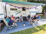 View larger image of People camping at CIRCLE CG FARM CAMPGROUND image #2
