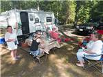 View larger image of Potato sack race at CIRCLE CG FARM CAMPGROUND image #5