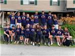 View larger image of The staff in matching shirts at CRAZY HORSE FAMILY CAMPGROUND image #3