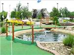View larger image of Miniature golf course at INDIAN CREEK CAMPING RESORT image #6