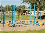 View larger image of Playground with swing set at INDIAN CREEK CAMPING RESORT image #8