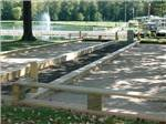View larger image of Horseshoe pits at INDIAN CREEK CAMPING RESORT image #9