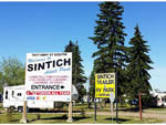 View larger image of Signs leading into park at SINTICH RV PARK image #4