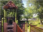 View larger image of Playground with swing set at BLACK BEAR CAMPGROUND image #4