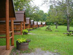 View larger image of Log cabins at HERSHEY ROAD CAMPGROUND image #2