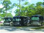 View larger image of RVs camping at SUNSHINE HOLIDAY DAYTONA RV RESORT image #2
