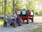 View larger image of Wagon ride at YOGI BEARS JELLYSTONE PARK CAMP-RESORT image #11