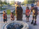 View larger image of Yogi and kids at YOGI BEARS JELLYSTONE PARK CAMP-RESORT image #12