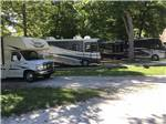 View larger image of Gravel RV sites under trees at ELIZABETHTOWN CROSSROADS CAMPGROUND image #8