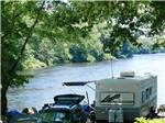 View larger image of Camping by the river at HIDDEN ACRES FAMILY CAMPGROUND image #3