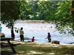 View larger image of People playing on the river at HIDDEN ACRES FAMILY CAMPGROUND image #5