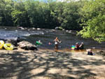 View larger image of People floating on the river at HIDDEN ACRES FAMILY CAMPGROUND image #8