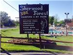 View larger image of Sign leading into campground resort at SHERWOOD FOREST CAMPING  RV PARK image #1