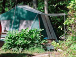 View larger image of Tent camping at ARTILLERY RIDGE CAMPING RESORT  GETTYSBURG HORSE PARK image #4