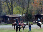 View larger image of Horseback riding near cabins at ARTILLERY RIDGE CAMPING RESORT  GETTYSBURG HORSE PARK image #7