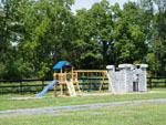 View larger image of Playground with swing set at ARTILLERY RIDGE CAMPING RESORT  GETTYSBURG HORSE PARK image #8