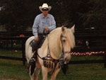 View larger image of Man riding horse at ARTILLERY RIDGE CAMPING RESORT  GETTYSBURG HORSE PARK image #12