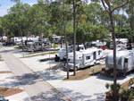 View larger image of RVs and trailers at campground at WOODSMOKE CAMPING RESORT image #7