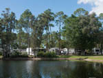 View larger image of Lodging on the water at WOODSMOKE CAMPING RESORT image #8