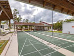 View larger image of The shuffleboard courts at WOODSMOKE CAMPING RESORT image #12