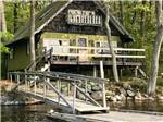 View larger image of Cabin on the lake with a dock at LAKE PEMAQUID CAMPGROUND image #6