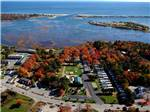 View larger image of Amazing aerial view over resort at SEA-VU CAMPGROUND image #1