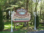 View larger image of Sign leading into campground resort at CAMPER COVE GARDEN RV PARK  CAMPGROUND image #3