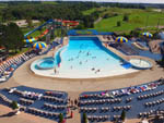 View larger image of Aerial view of the large swimming pool at BINGEMANS CAMPING RESORT image #5