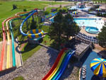 View larger image of Aerial view of the water park at BINGEMANS CAMPING RESORT image #6