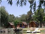 View larger image of Log cabins at SAC-WEST RV PARK AND CAMPGROUND image #4