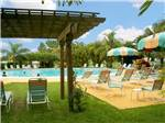 View larger image of Swimming pool with outdoor seating at MIAMI EVERGLADES RESORT image #3