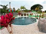View larger image of Fountain at miniature golf course at MIAMI EVERGLADES RESORT image #8