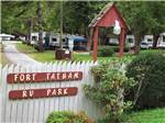 Ft. Tatham Campground RV Resort