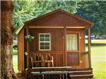 View larger image of Cabin with deck at FORT TATHAM RV RESORT  CAMPGROUND image #2