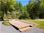 View larger image of Campsite with picnic table at FORT TATHAM RV RESORT  CAMPGROUND image #6