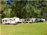 View larger image of Trailers and RVs camping at FORT TATHAM RV RESORT  CAMPGROUND image #7