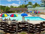 View larger image of Swimming pool with outdoor seating at HOLIDAY TRAV-L-PARK image #1