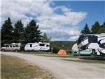 View larger image of Trailers camping at PONDEROSA PINES CAMPGROUND image #4