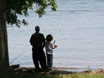 View larger image of Boy fishing at POHICK BAY REGIONAL PARK image #4