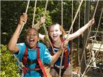 View larger image of Amazing aerial view over resort at STONE MOUNTAIN PARK CAMPGROUND image #11
