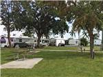 View larger image of Picnic tables at FORT MYERS BEACH RV RESORT image #2