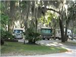 View larger image of RVs and trailers at EAGLES ROOST RV RESORT  CONFERENCE CENTER image #1
