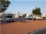 View larger image of RVs parked in gravel sites at RIVIERA RV PARK image #2