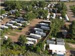 View larger image of Amazing aerial view over resort at RED TRAIL CAMPGROUND image #1