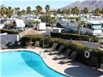 View larger image of Amazing aerial view over resort at LAS VEGAS RV RESORT image #1
