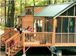 View larger image of Cabin with deck at JELLYSTONE PARK TM AT BIRCHWOOD ACRES image #2