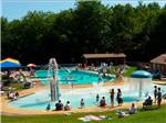 View larger image of Swimming pool at campgrounds at JELLYSTONE PARK TM AT BIRCHWOOD ACRES image #3