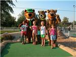 View larger image of Yogi and kid at JELLYSTONE PARK TM AT BIRCHWOOD ACRES image #5