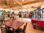 View larger image of Pool table in game room at JELLYSTONE PARK TM AT BIRCHWOOD ACRES image #9